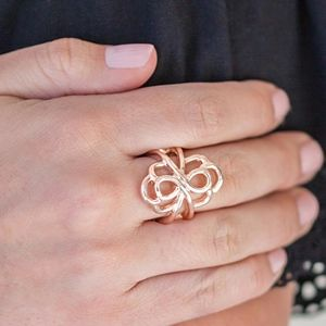 Free with Bundle Ever Entwined Gold Ring